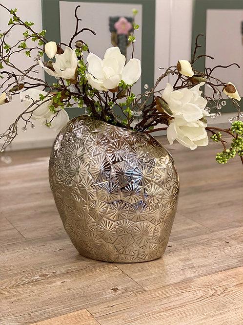 "Vase aus Alu ""Blossom"""