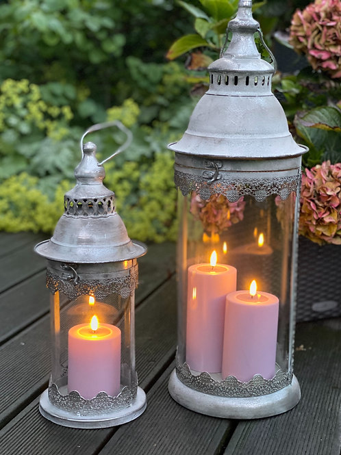 Outdoor Deluxe Homeart LED-Kerze MIA - Rosa