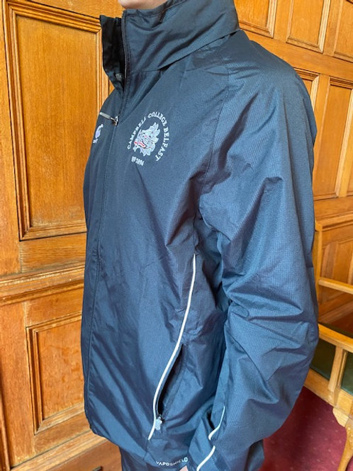 Black Canterbury raincoat