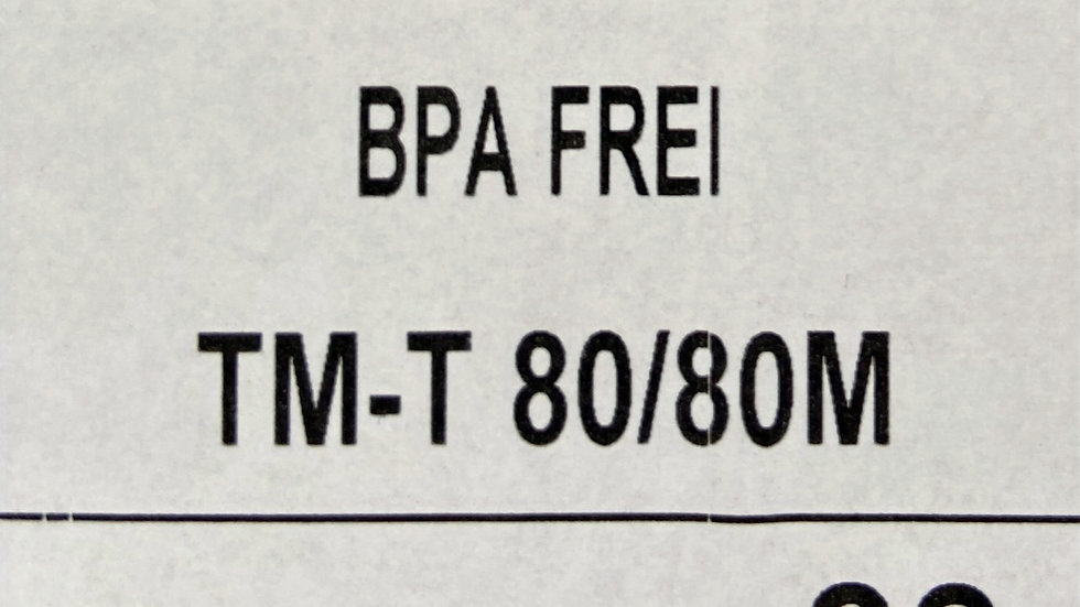 1 Karton Thermorollen 80mm