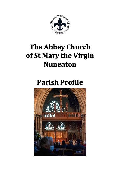 Parish Profile St. Mary Nuneaton 2021 Fi