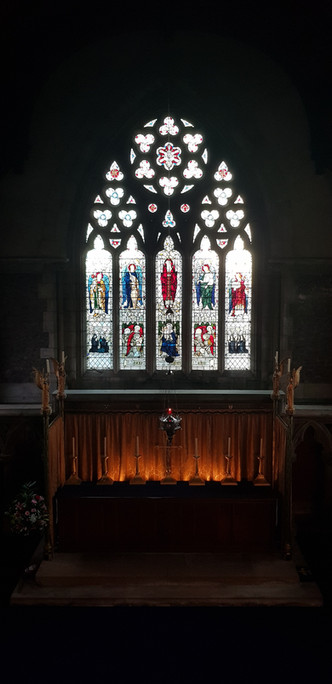 The High Altar from the Rood Screen