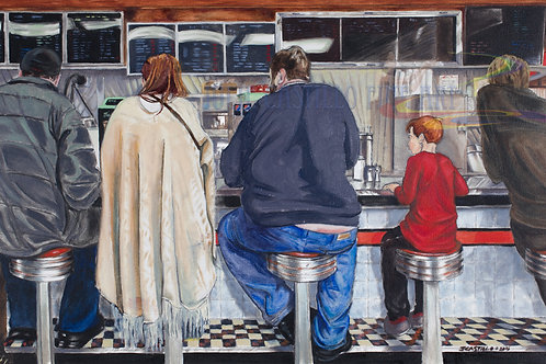 Waiting, The Diner
