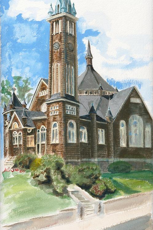 Presbyterian Church with Frame