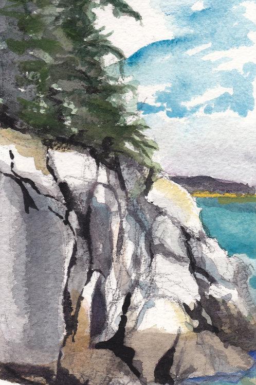 Lighthouse Island, Stonington, ME