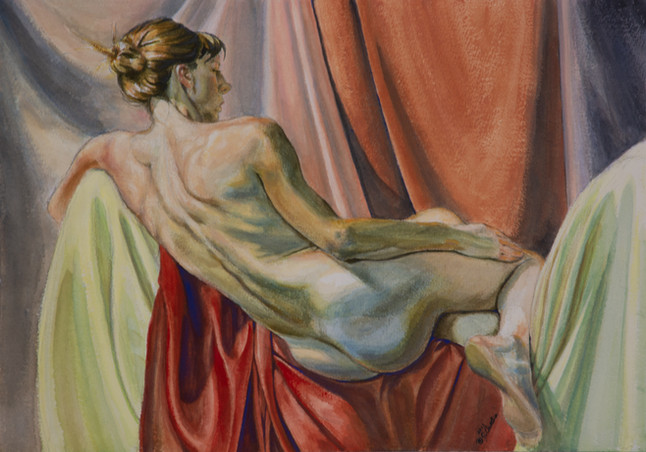 Woman Reclining