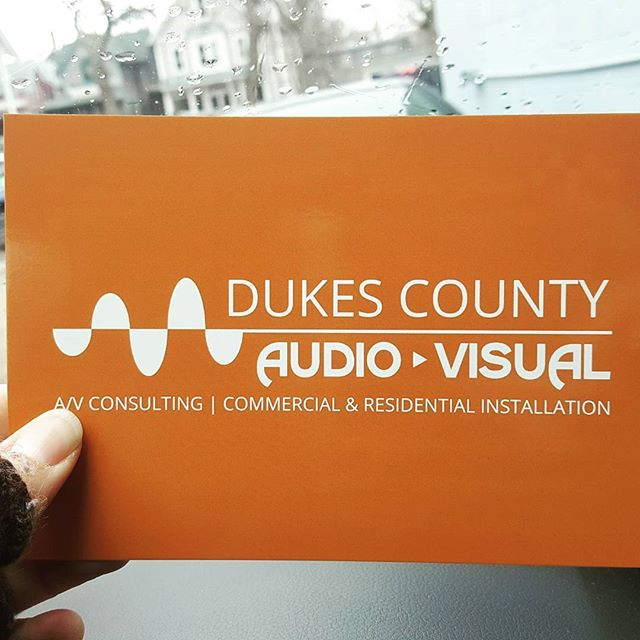 Got the new biz cards and postcards in!