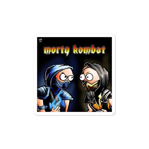Morty Combat stickers