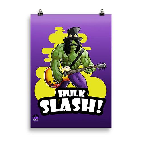 Hulk Slash Poster