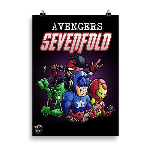 Avengers Sevenfold Poster