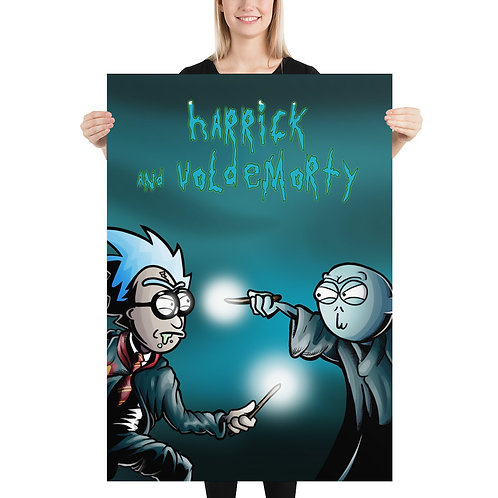 Harrick and Voldemorty Poster