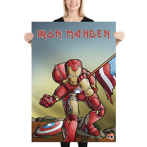 Iron Manden Poster