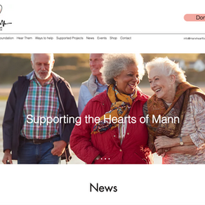 April 2021 - The Manx Heart Foundation launches its new website