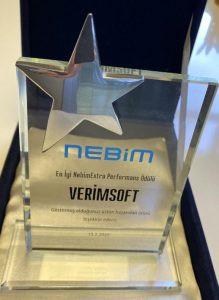 En İyi NebimExtra Performans Ödülü