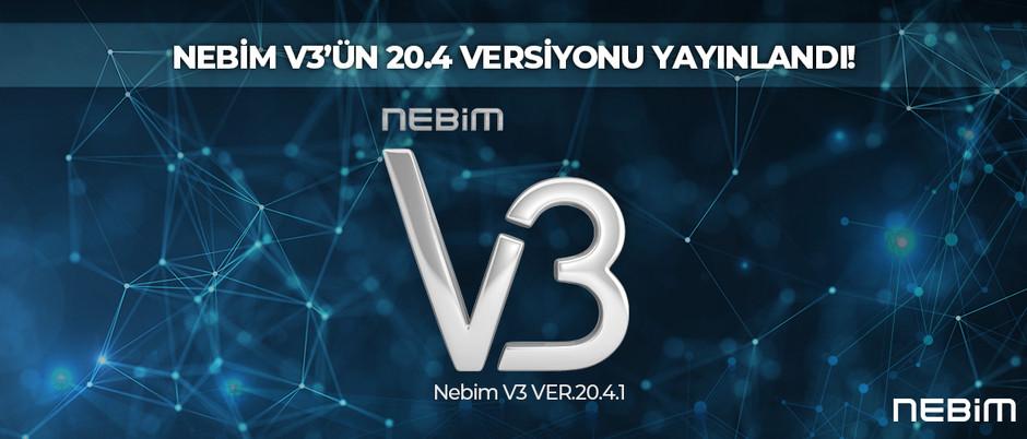 Nebim V3'ün 20.4 Versiyonu Yayınlandı