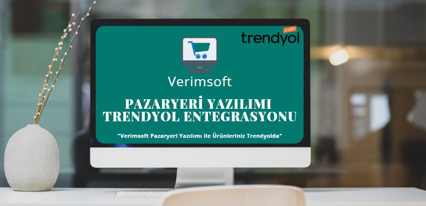 Pazaryeri Yazılımımız ile Ürünleriniz Trendyol' da!
