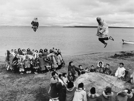 The Inuit Blanket Toss