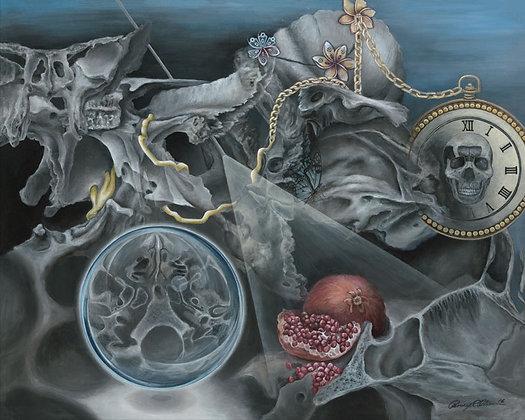 """""""Metamorphosis: Skull Base Vanitas"""""""