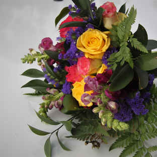 Colourful bridesmaid bouquet.JPG