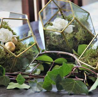 Geometrical wedding centerpiece.JPG