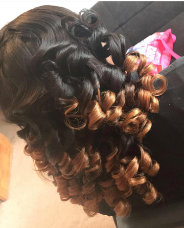 Weave Curled/ Straightened