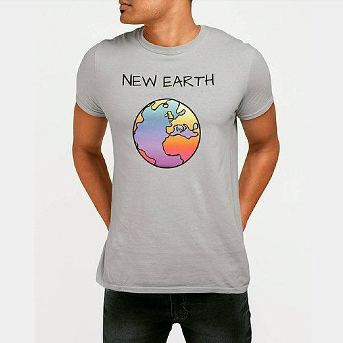 T-Shirt Terre Gris Homme
