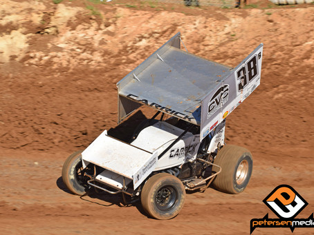Blake Carrick Charges To Ninth at Placerville Speedway