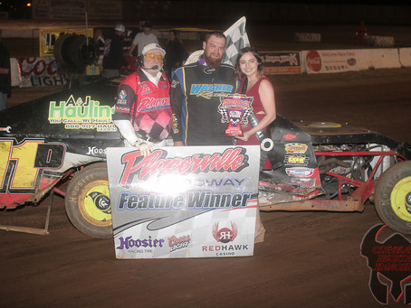 Danny Wagner, Bobby Hogge, Kevin Jinkerson and Fred Ryland claim Tilford Tribute victories at Placer