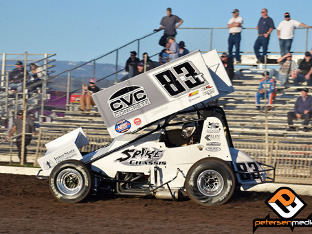 Tanner Carrick Battles Hard with World of Outlaws