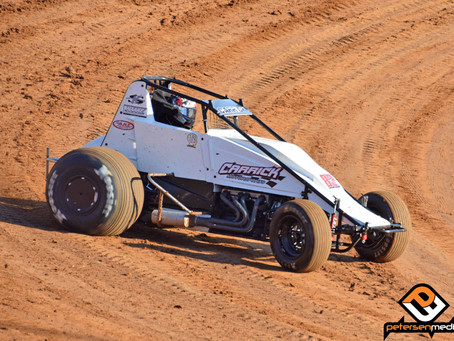 Carrick Records Eldora Top-10 With Keith Kunz Motorsports at Four Crown