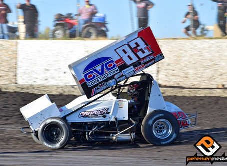 Tanner Carrick 13th During First Visit to Petaluma Speedway -