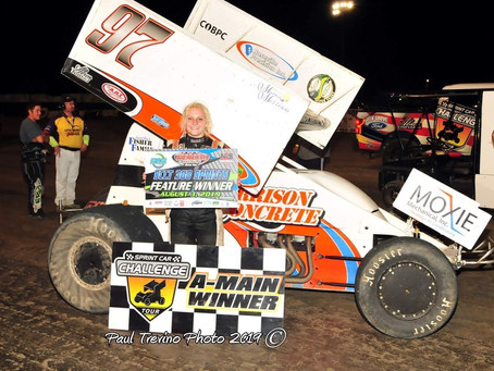 Robinson Gets First SCCT Victory