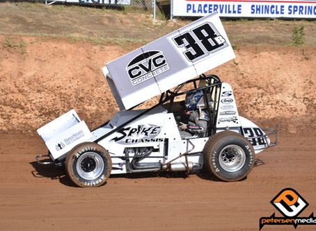 Blake Carrick 11th with KWS at Placerville Speedway
