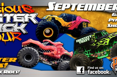 Monster Trucks roar into Placerville Speedway this coming Friday and Saturday