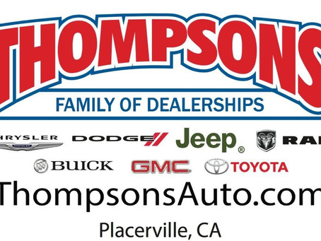 Thompson's Family of Dealerships continues relationship with Placerville Speedway