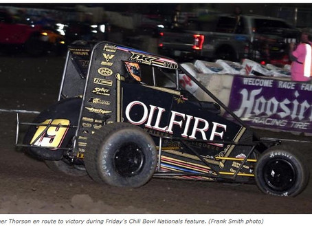 It's Tanner Thorson In Tulsa Wild One | SPEED SPORT