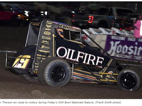 It's Tanner Thorson In Tulsa Wild One | SPEED SPORT