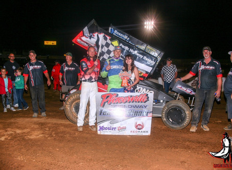Andy Forsberg scores fourth Placerville Speedway win of 2018