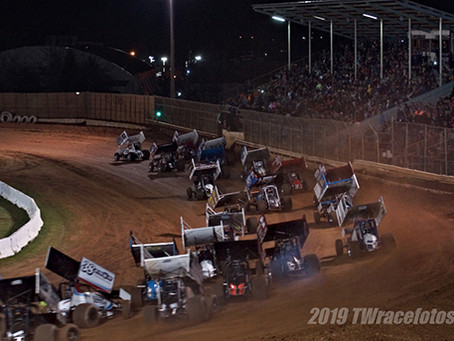 King of the West-NARC 410 and Sprint Car Challenge Tour 360 combo show invades Placerville Speedway
