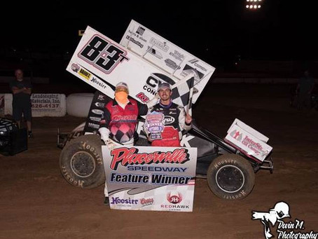 Tanner Carrick Clean Sweeps Saturday Night to Claim First Career Placerville Speedway Victory