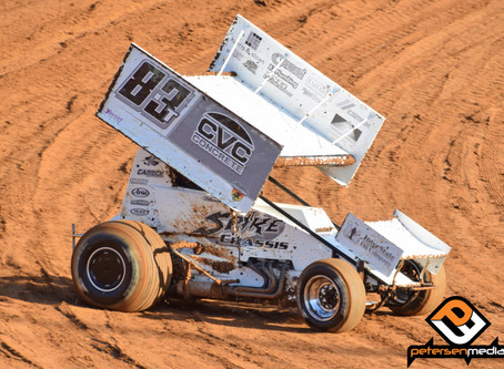 Carrick Finishes on Placerville Speedway Podium Saturday Night