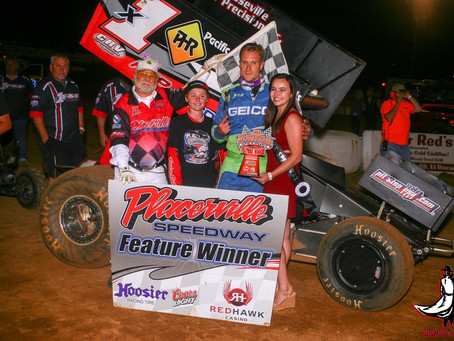 Forsberg returns to Placerville Speedway victory lane on Saturday
