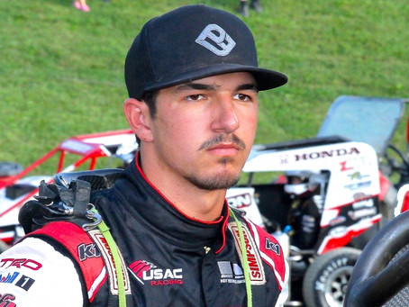 CARRICK REUNITES WITH KKM FOR USAC MIDGET SWING OUT WEST