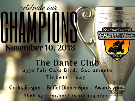 RSVP for the Champions Banquet Today!