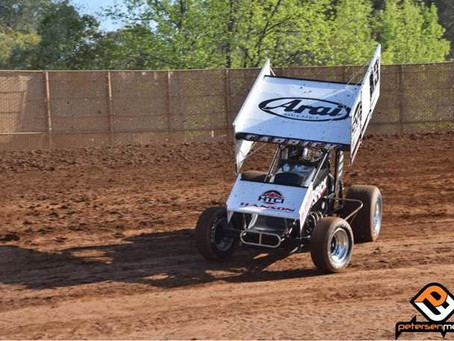 Placerville Speedway Top-5 for Tanner Carrick