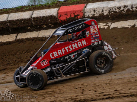 Tanner Carrick 9th at Lucas Oil Speedway