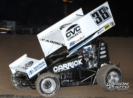 Blake Carrick Makes The Show with the Lucas Oil ASCS National Tour