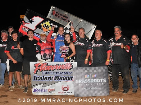Forsberg claims 63rd Placerville Speedway victory