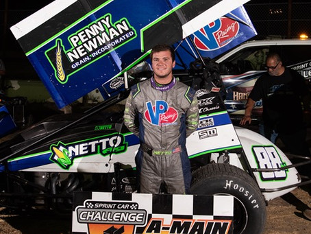 Netto makes final corner pass for SCCT victory