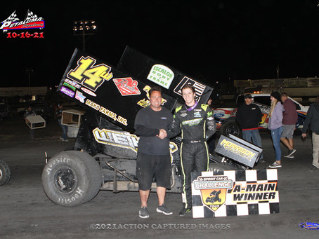 Robinson claims first SCCT victory at Petaluma Speedway